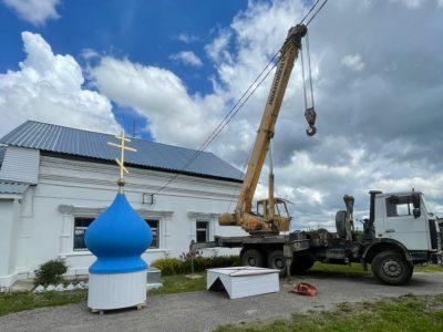 «Композиты России» создали купол из композиционных материалов для Владимирского храма