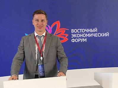 Владимир Нелюб выступил на Восточном экономическом форуме
